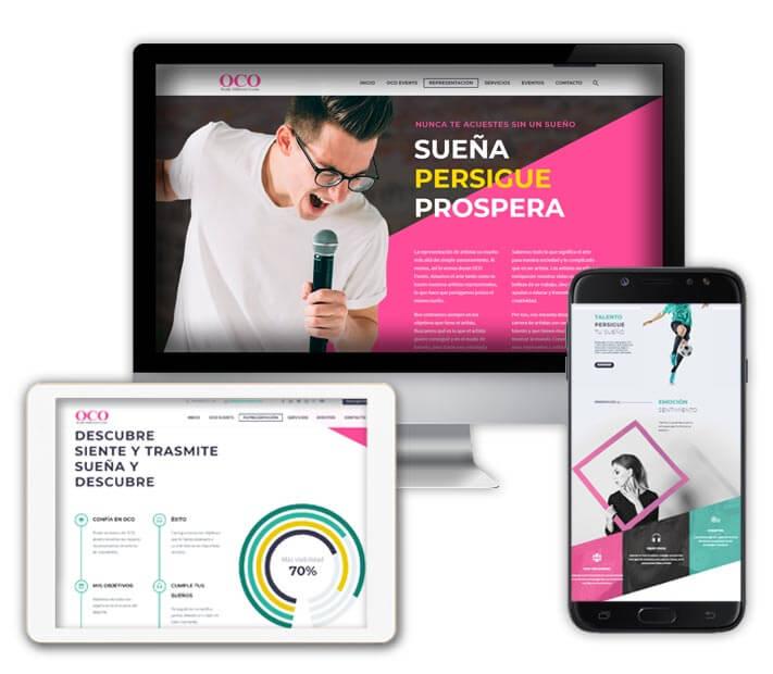 6a3205f6c1f Crea tu página web en Zaragoza con o10media. diseño web Zaragoza